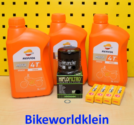 honda vt 500 c e l lfilter z ndkerzen repsol 20w50 pc08 pc11 motor l shadow ebay. Black Bedroom Furniture Sets. Home Design Ideas