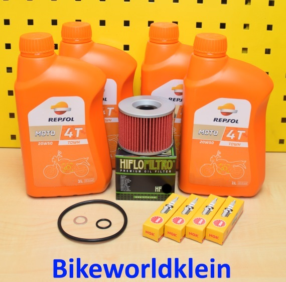 honda cb 650 79 85 l lfilter z ndkerzen repsol 20w50 motor l rc 03 05 08 b c z ebay. Black Bedroom Furniture Sets. Home Design Ideas